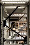 Aperçu du magasin central de la nouvelle bibliothèque de l'INHA en salle Labrouste. Cliché Ouadah 2016 - INHA