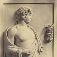Robert Macpherson (1811-1872), Antinous - bas relief, Villa Albani, vers 1860, Tirage sur papier albuminé, The J. Paul Getty Museum, Los Angeles